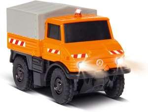 Carson MB Unimog U400 Kommunal 100% RTR, ferngesteuertes Fahrzeug mit LED Beleuchtung & schaltbarer Warnleuchte für 60€ (Müller)