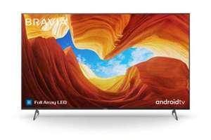 Sony KE75XH9299BAEP Full Array LED TV (75 Zoll (189 cm), 4K UHD, Smart TV, HD Twin Triple Tuner, HDR, USB-Aufnahme, Sprachsteuerung, EEK G)