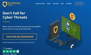 STRONG - VPN 50% Rabatt