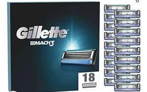 Gillette Mach 3 Klingen 18er mit Sparabo (evtl. personalisiert)