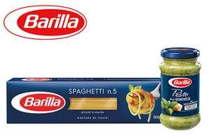 [ALDI-Nord] 190/200g Barilla Pesto + 1kg Spaghetti No.5 - Cashback = 2,98€