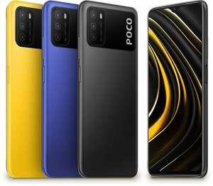 Xiaomi Poco M3 mit 4/64 GB - 6000mAh Akku - alle Farben (Gelb, Blau & Schwarz)