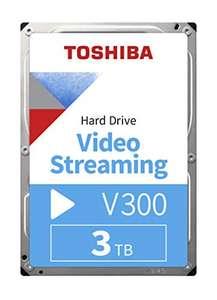 3TB Festplatte Toshiba HDWU130UZSVA V300 auch geeignet für Dauerbetrieb (DVR)