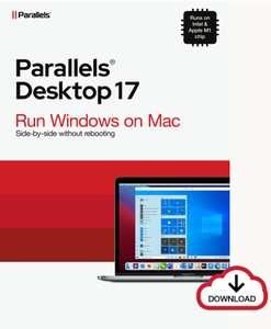 Parallels Desktop 17 Mac Dauerlizenz durch Upgrade-Aktion bis Ende September aktuell für 64,90€