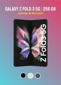 SPARHANDY O2 Unlimited Tarif 500Mbit/s,Galaxy Fold 3 5g 256 gb [71,66 € eff./Monat], Incl.RMM.