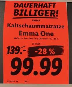 [Lokal] Emma One hart 90 x 200 cm Kaltschaummatratze