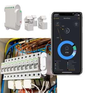 Shelly 3EM 3-phasiger Wi-fi Messaktor für den Verteilerschrank