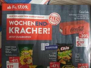 Aldi Nord 18 dosen 0,33l Coca Cola zero sugar für 5,99