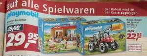 [real-markt] 20% auf Spielwaren zB. : playmobil Bauernhof oder Traktor