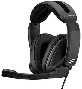 EPOS SENNHEISER GSP 302 Over-ear Gaming Headset Schwarz, 3,5mm Klinke