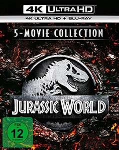 Jurassic World - 5-Movie Collection (4K Ultra HD) (5 BR4Ks + 5 BRs) [Blu-ray]