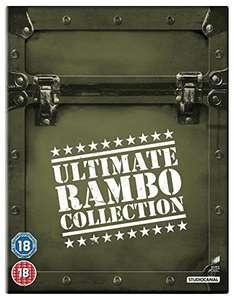 Rambo 1 - 4 Ultimate Rambo Collection [Blu-ray] [Import amazon UK), FSK18 - 100 % uncut