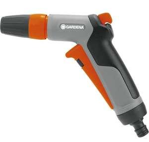 GARDENA Classic Reinigungsspritze: Wasserspritze zum Reinigen und Sprühen, mit Impulsauslöser und Dauerarretierung, Frostschutz (Prime)