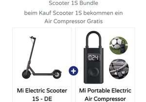 Bei Kauf Scooter 1S ein Air Compressor Gratis dazu