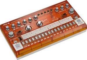 Behringer RD-6-TG, Rhythm Designer, analoge Drum Machine, Farbe Transparent Orange [Muziker]