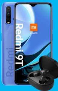 O2 Netz: Xiaomi Redmi 9T 64GB im Blau Allnet XL 10GB LTE für 10,99€ monatlich, 1€ einmalig + 50€ Cashback