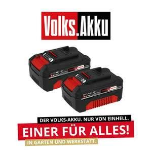 Einhell 2x 18V 4Ah Akku PXC-Twinpack