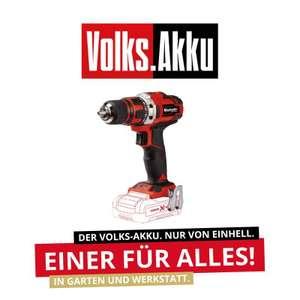 Einhell 18V Akku-Bohrschrauber TE-CD 18/40 Li + Starter Kit 18V 4 Ah