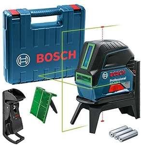 [Sammeldeal] Bosch Professional Crossline-Laser GCL 2-15 G (GCL 2-15 G; RM 1 Professional; 3x 1,5 V LR6-Batterien, Laserzielplatte