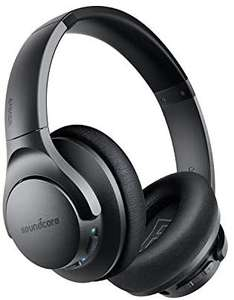 Anker Soundcore Life Q20 Bluetooth Kopfhörer, Aktive Geräuschunterdrückung, 40 St. Wiedergabezeit, Hi-Res Audio