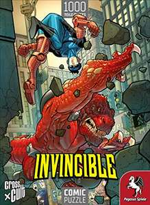 Pegasus Spiele Puzzle: Invincible (Invincible vs. Dinosaurus) 1.000 Teile für 6,31€ (Amazon Prime)