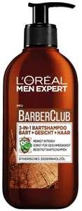 L'Oréal Men Expert Barber Club 3-in-1 Bartshampoo (200ml) [PRIME]