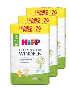 25% Rabatt auf Hipp Windeln Vorratsboxen bei [windeln.de] Gr. 3 - 6 // Pampers Feuchttücher 36 Packungen für 34,43€