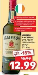 [Kaufland ab 16.09] Jameson Original Irish Whiskey 0,7L Flasche für 12,99€