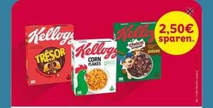 Kellogg's offline für 1.99€ in Aktion ( 74 Cent nach Cashback)