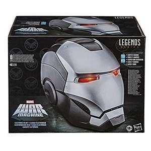Hasbro Marvel Legends Series War Machine elektronischer Premium Rollenspiel-Helm mit LED Lichtern (Silber) für 84,99€ (Amazon)
