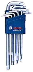 Bosch Professional 9tlg. Innensechskantschlüssel Set TORX für 13,99€ (Amazon Prime)