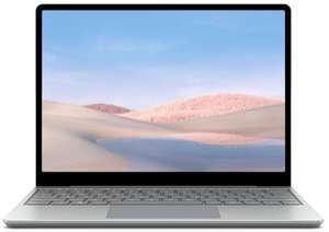 """[Expert] Microsoft Surface Laptop Go Platin, 12,4"""" Touch, i5-1035G1, 8GB RAM, 256GB SSD, Win10 S"""