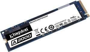 Kingston A2000 SSD NVMe PCIe M.2 2280 1TB für 75,99€ inkl. Versandkosten