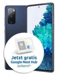 Samsung Galaxy S20 FE 6/128GB (Snapdragon) + Google Nest Hub + Galaxy Watch Active 2 im Congstar Allnet/SMS Flat 10GB LTE für 22€/Monat
