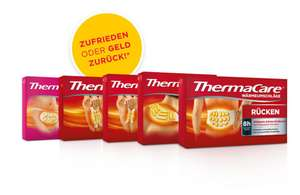 ThermaCare® Packungen mit 2 oder 3 Wärmeauflagen Gratis Testen [GzG]
