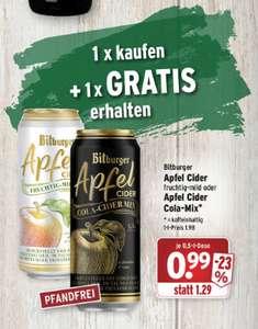 (Lokal Wasgau) BITBURGER CIDER 1 Dose kaufen und 1 Dose gratis dazu