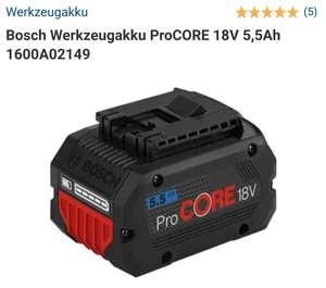 Bosch Professional 18v Akku Procore 5,5 Ah
