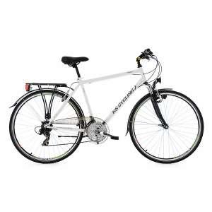 KS Cycling Vegas Fahrrad Herren (weiß) 21 Gänge 28 Zoll Federung Gepäckträger