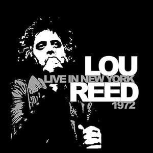 (Prime) Lou Reed - Live In New York 1972 (Vinyl LP)