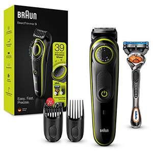 Braun Barttrimmer BT3241 Trimmer und Haarschneider für Herren, 39 Längeneinstellungen für 28,99€ (Amazon Prime)