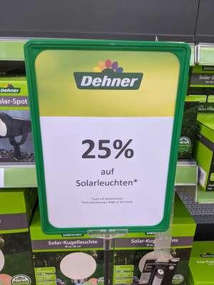 [Lokal? Landshut] - Dehner - 25% auf Solarleuchten
