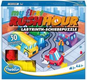 ThinkFun - My first Rush Hour - Das bekannte Stau-Spiel Logikspiel, mit Aufgaben für Anfänger & Experten für 10€ (Müller Abholung)