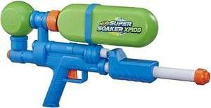 NERF Super Soaker XP100, Druckluft Wasserblaster, abnehmbarer Tank, bis 1,26 L [Thalia KultClub]