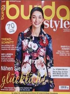 Strick-& Nähmagazine Abo: Burda Style für 28,40 + 25€ Scheck, Burda easy 27,6€ + 10€ Scheck, Fashion Style 26€ + 10€ Scheck, Burda Stricken