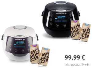 Reishunger Digitaler Premium Reiskocher 1,5 Liter + je 200g Bio Basmati Reis u. Jasmin Reis für 99,99€ inkl. Versandkosten