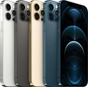 Apple iPhone 12 Pro 5G mit Vodafone Smart XL GigaKombi (45 GB LTE 5G) für mtl. 44,91€ & 59€ ZZ (128 GB) od. 149€ ZZ (256 GB)