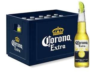 Corona Extra Premium Lager Flaschenbier, MEHRWEG (24 x 0.355 l) im Kasten