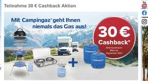 [Campingaz] 30€ Cashback Aktion für einen gekauften Grill + Gas Kartusche