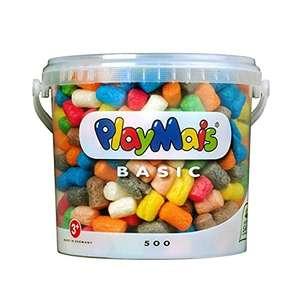 PlayMais Basic 500 Basteleimer mit über 500 Stück für Kinder ab 3 Jahren für 5,99€ (Amazon Prime)