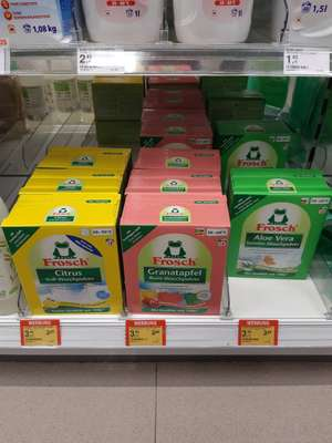[Müller Hamburg] Frosch Waschmittel-Pulver